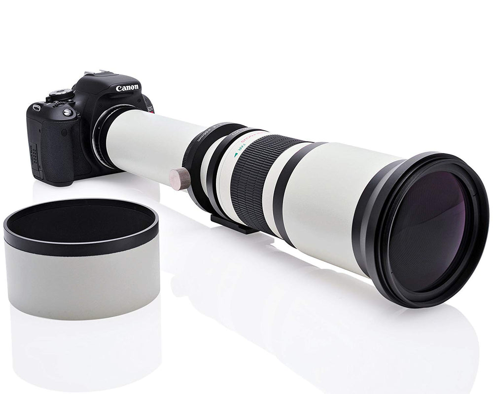 Opteka 650-1300mm High Definition Telephoto Zoom Lens