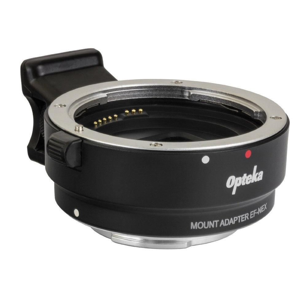 Opteka Auto Focus Lens Adapter for Canon EOS EF Lenses to Sony NEX (Mirrorless) Cameras