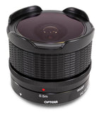 Opteka 9mm f/8 HDMC Fisheye Lens for Olympus Micro Four Thirds