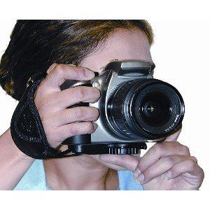 Opteka Professional Wrist Grip Strap for Digital Cameras (Black)