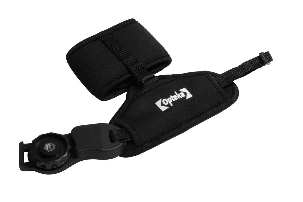 Opteka GS-3 Neoprene Padded Dual Grip/Wrist Strap Handgrip for All Digital SLR Cameras