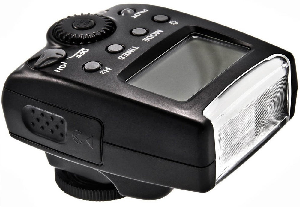 Opteka IF-500 TTL Auto-Focus Dedicated Flash (IF-500) with LCD Display and Protective Case for Canon 80D 77D 70D 60D 60Da 50D 7D 6D 5D 5DS 1DS T7i T7s T7 T6s T6i T6 T5i T5 T4i T3i T3 SL2 SL1