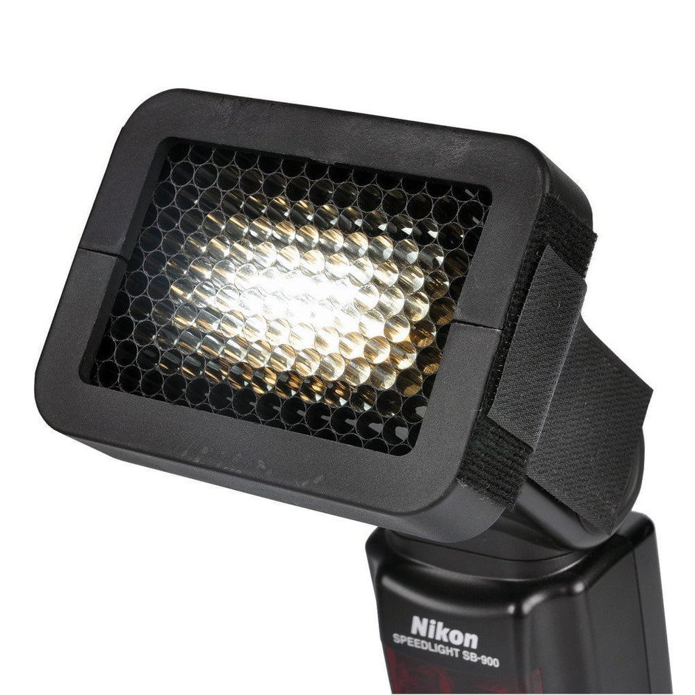 Opteka OSG14 1/4 Universal Honeycomb Grid for External Camera Flashes (Black)