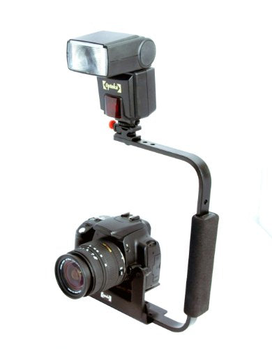 Opteka FB-10 Camera Flip External Flash Bracket for Digital SLR Cameras [Camera]
