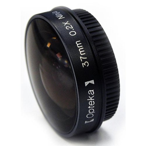 Opteka Platinum Series 0.2X Low-Profile Ninja Fisheye Lens for 37mm Camcorders