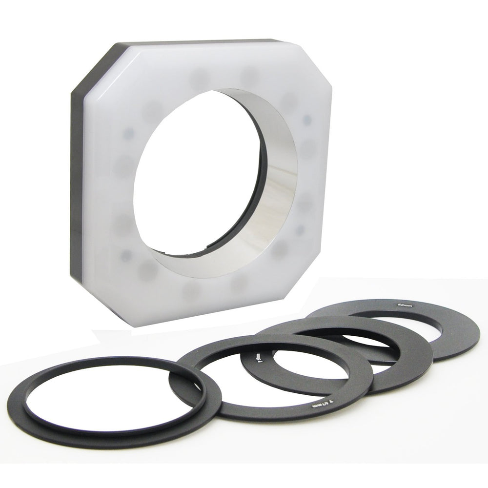 Opteka RL-12 Digital Macro LED Ring Light for Canon EOS, Nikon, Sony Alpha, Olympus and Pentax Digital SLR Cameras