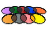 Opteka 62mm 9 Piece HD Multicoated Solid Color Filter Kit Set