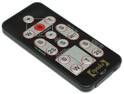 Opteka RC-7 Wireless Remote Control for Nikon SLR D40, D40x, D50, D60, D70, D70s, D80