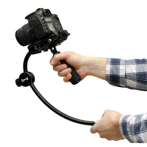 Opteka SteadyVid PRO Video Stabilizer System for Digital Cameras, Camcorders and DSLR's (Supports up to 5 lbs)
