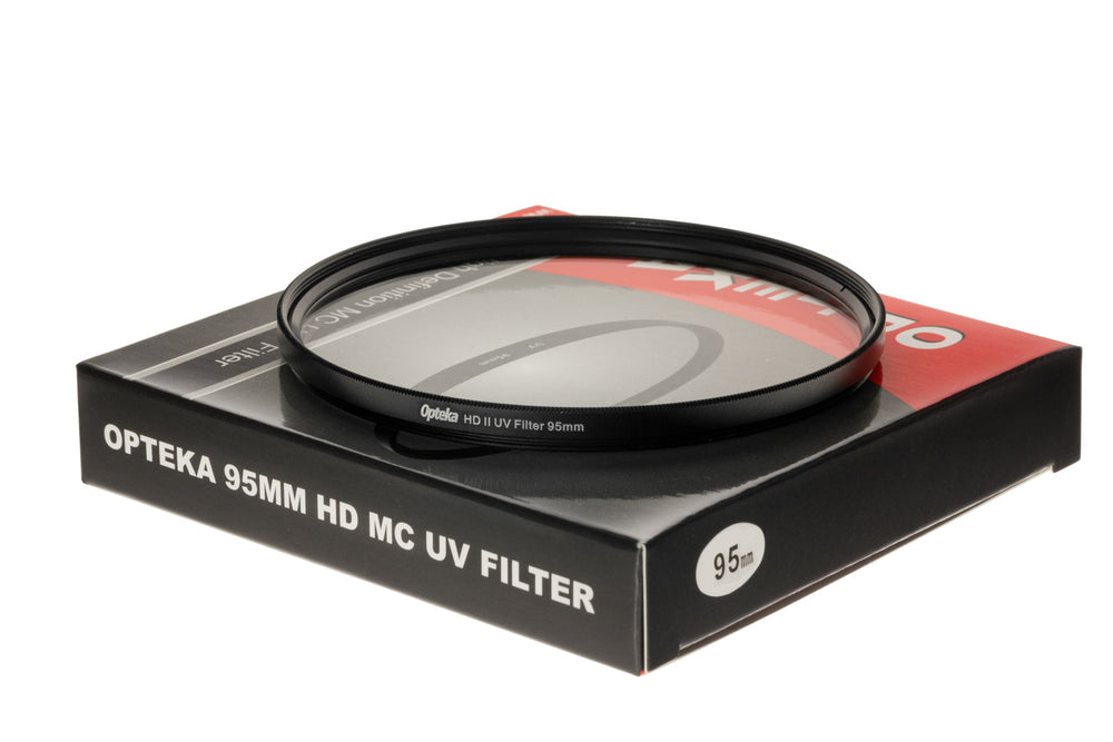 Opteka 95mm High Definition UV (0) Ultra Violet Haze Multi-Coated Glass Filter