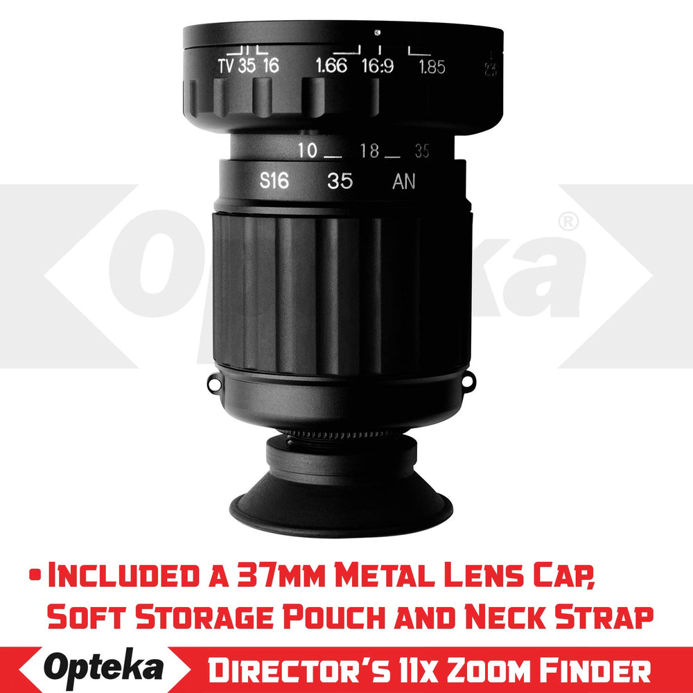 Opteka Micro Professional Director's Viewfinder with 11x Zoom
