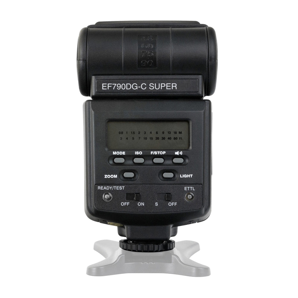 Opteka EF-790 DG Super TTL Autofocus Dedicated LCD Flash for Pentax and Samsung Digital SLR Cameras