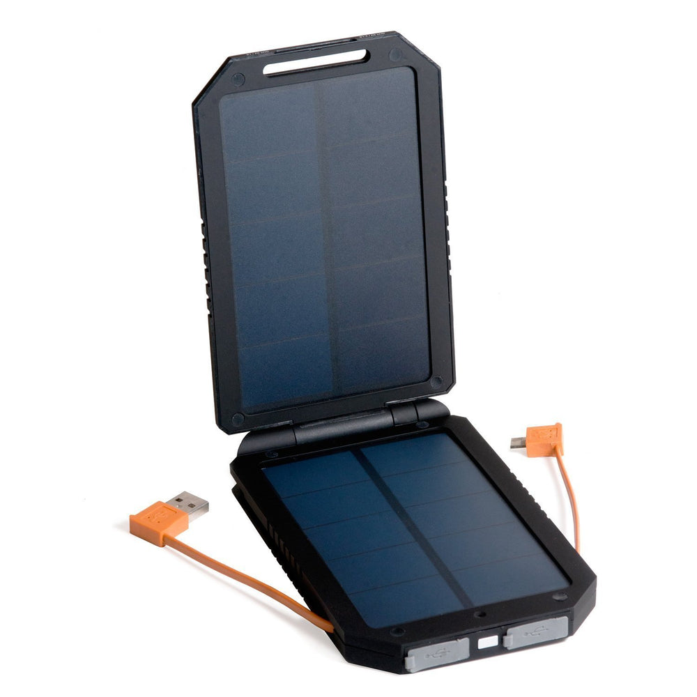 Opteka BP-SC8000 Ultra High Capacity (6000mAh) Backup Battery Solar Charger with Faster Charging Dual EcoPanel (2013 Model)