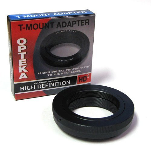 Opteka T-Mount Adapter for Sony E-Mount Digital Cameras