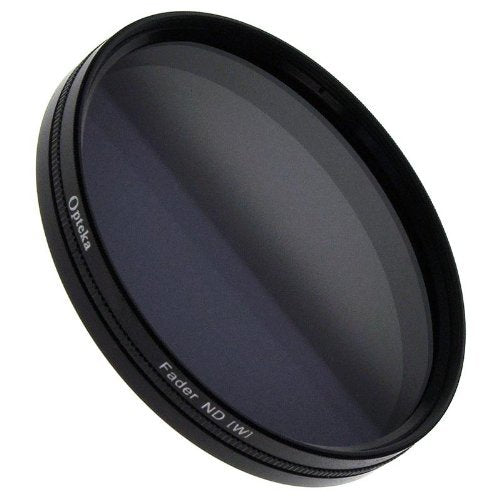 Opteka 49mm HD Multi-Coated Variable Neutral Density (2-8 Stops) Fader Glass Filter