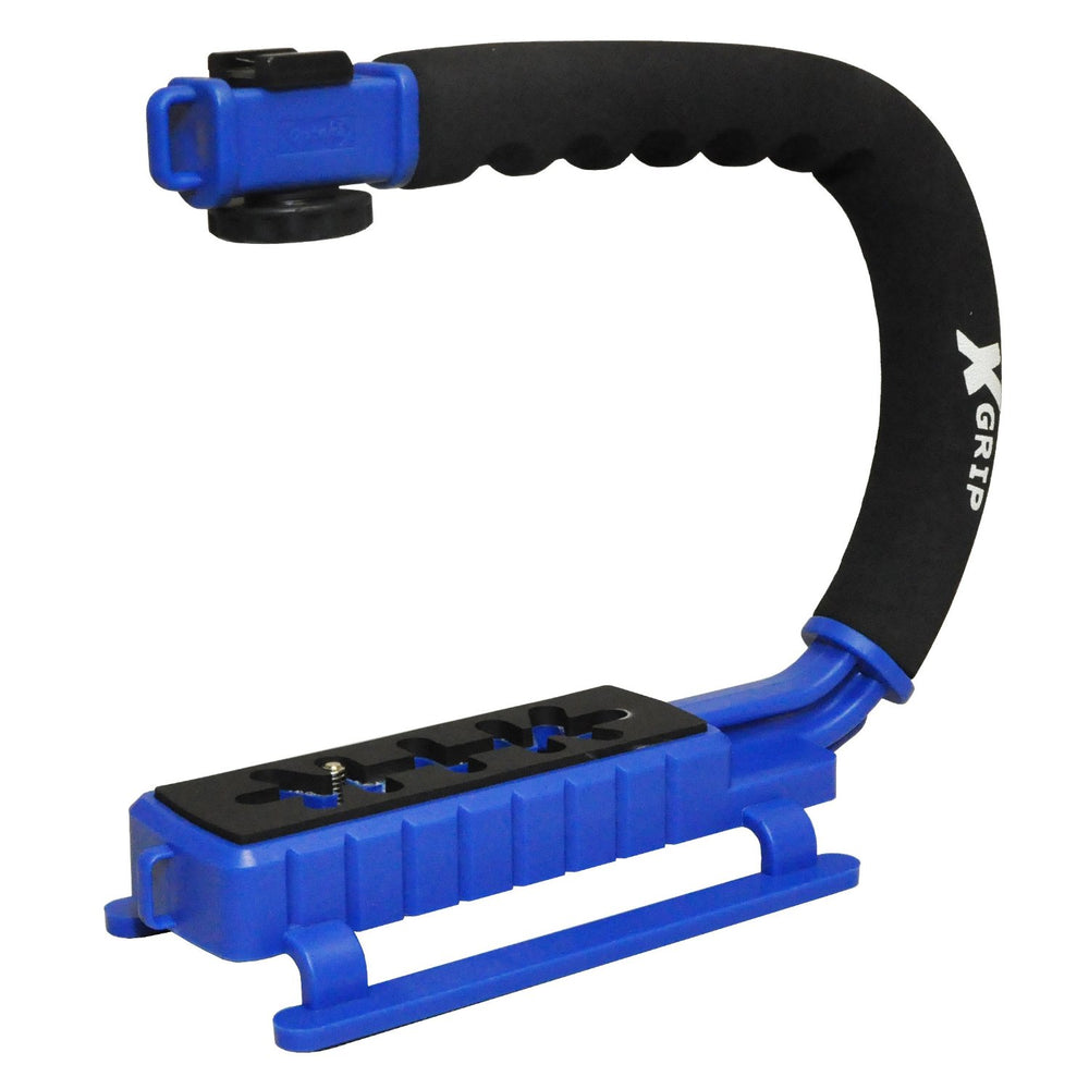 Opteka X-GRIP Stabilizing Handle (Blue)