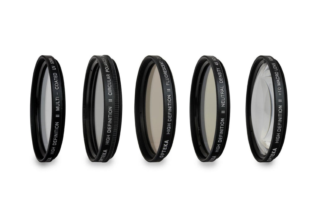 Opteka 67mm 5 Piece Filter Kit (UV, CPL, FL, ND4 and 10x Macro)