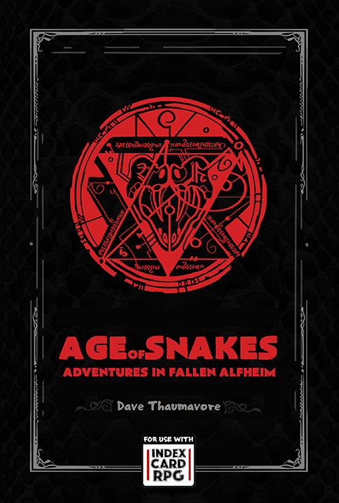 Age of Snakes: Adventures in a Fallen Alfheim (ICRPG)