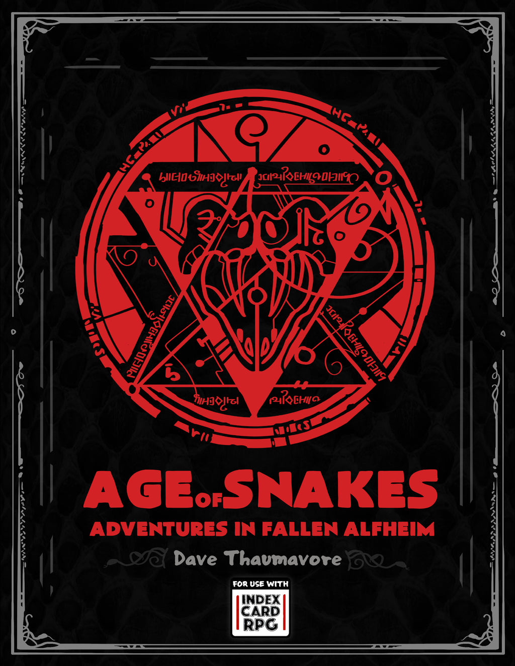 Age of Snakes: Adventures in a Fallen Alfheim