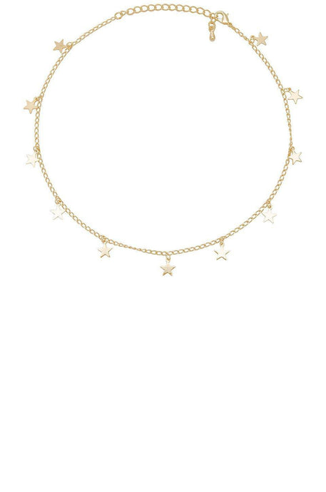 Stargirl Choker in Gold