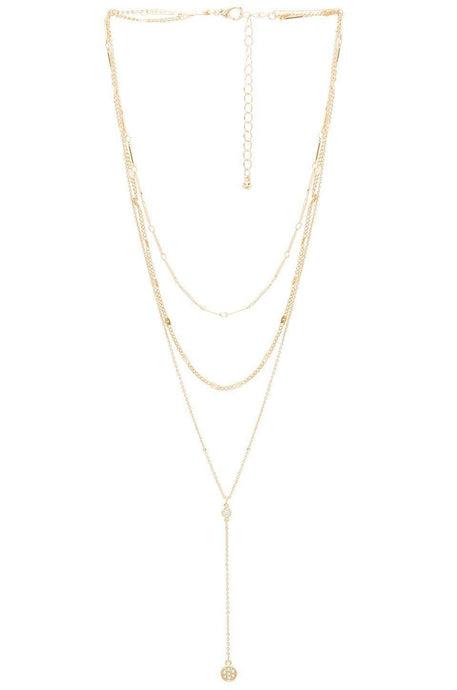 Shrine Lariat in Gold
