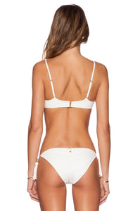 White Sands Shell Stitch Bralette - Kustom Label - 3