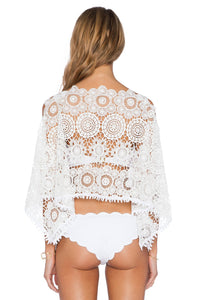 White Sands Lace Crop Top - Kustom Label - 3
