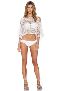White Sands Lace Crop Top - Kustom Label - 4