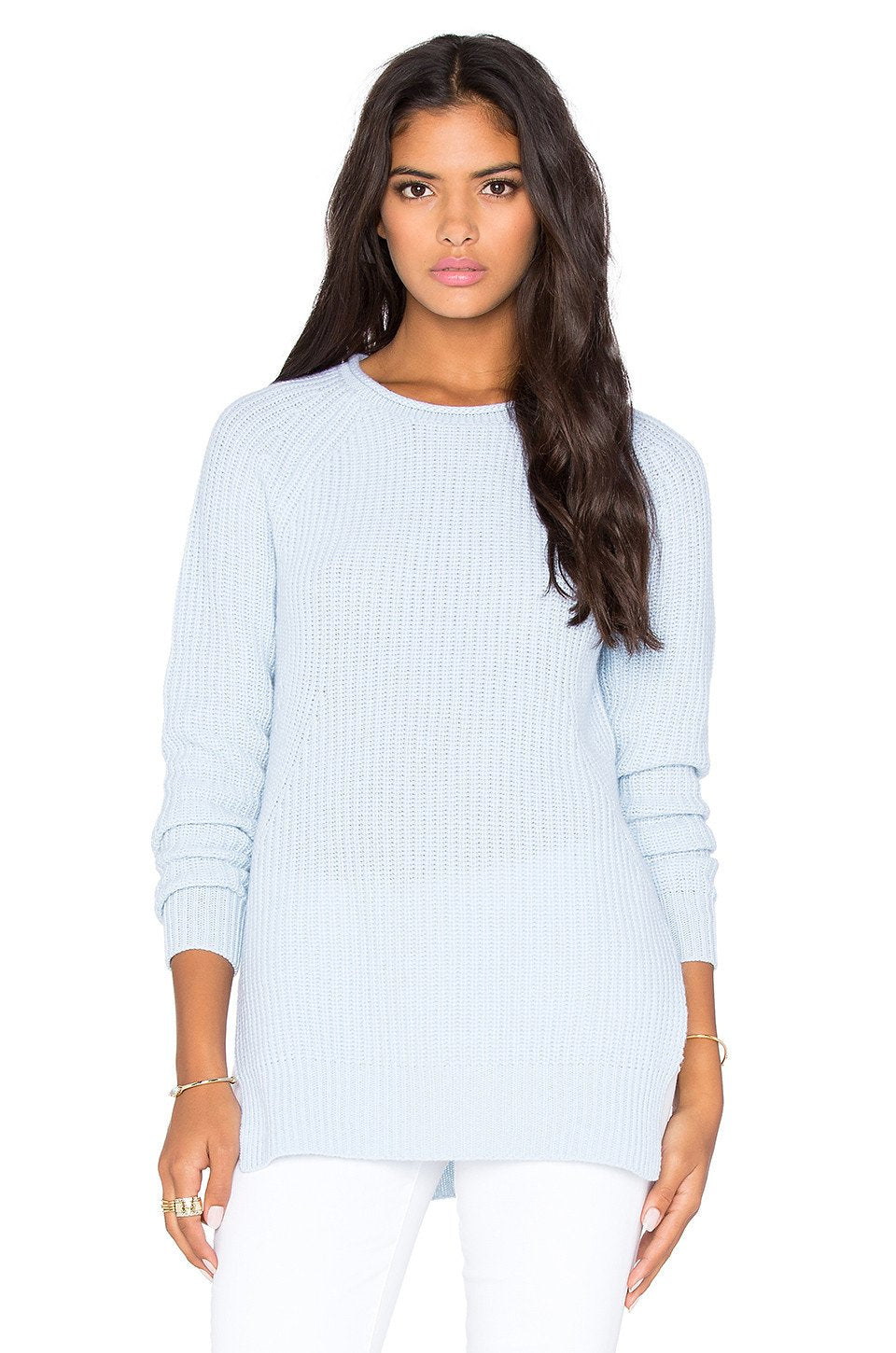 Shaker Side Slit Sweater - Kustom Label - 1