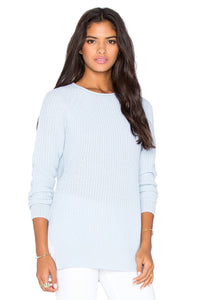 Shaker Side Slit Sweater - Kustom Label - 2