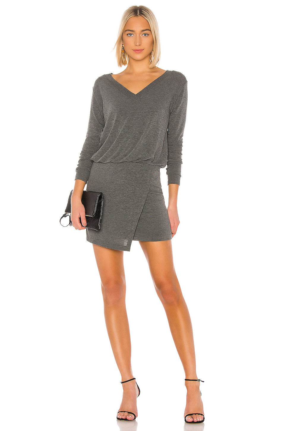 Lloyd T-Shirt Mini Dress in Marengo
