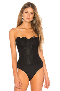 Oskar Bodysuit in Black