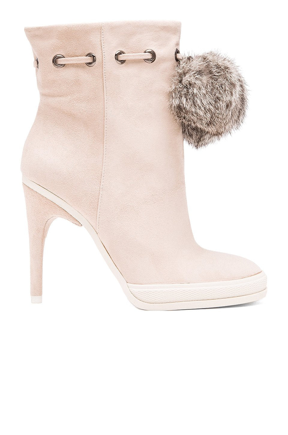 Perry Bootie With Rabbit Fur - Kustom Label - 1
