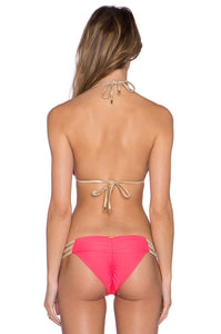 Masagascar Glam Triangle+ BIKINI TOP - Kustom Label - 3