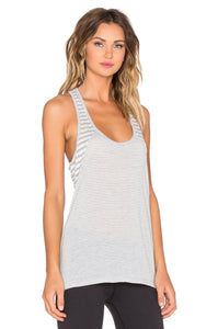 Sailing Stripe Double Racer Tank - Kustom Label - 4