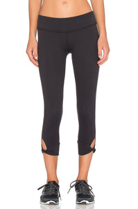 Twisted Cuff Capri Legging - Kustom Label - 1