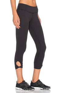 Twisted Cuff Capri Legging - Kustom Label - 4