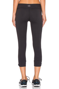 Twisted Cuff Capri Legging - Kustom Label - 2