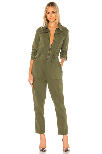 Utility Jumpsuit in Mary Jane