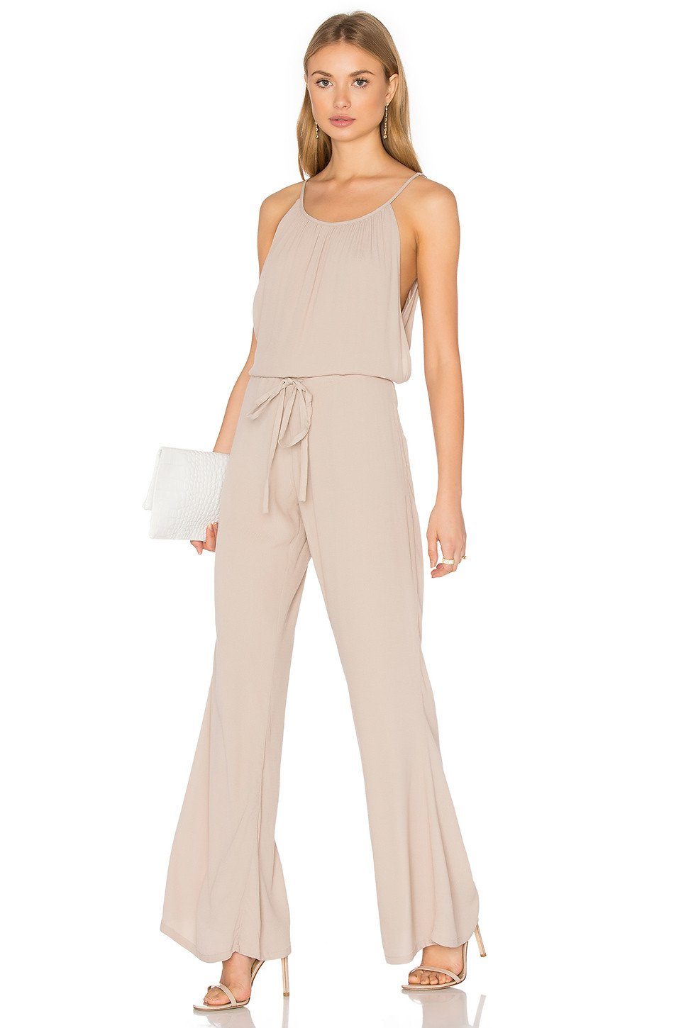 Beige Jumpsuit - Kustom Label - 1