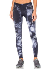Load image into Gallery viewer, ZIPPER MOTO LEGGINGS - Kustom Label - 1