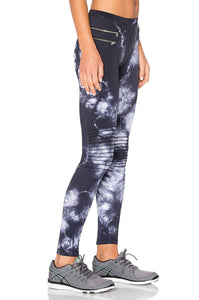 ZIPPER MOTO LEGGINGS - Kustom Label - 2