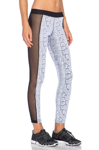 Snake Mesh Leggings - Kustom Label - 3