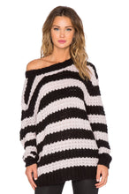 Load image into Gallery viewer, Stripe Shock Sweater - Kustom Label - 1
