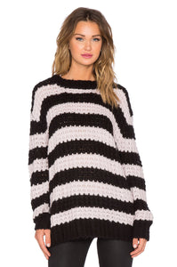 Stripe Shock Sweater - Kustom Label - 3
