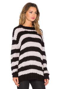 Stripe Shock Sweater - Kustom Label - 2