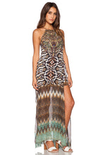 Load image into Gallery viewer, Sheer Overlay Maxi Dress - Kustom Label - 2
