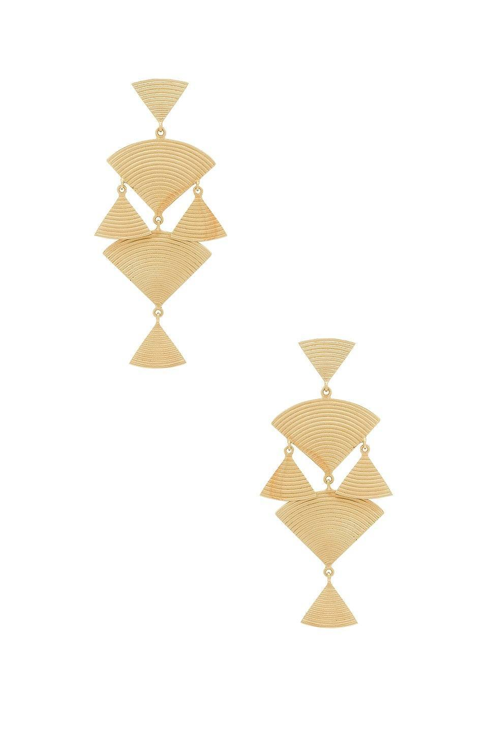 Wren Earrings in Gold
