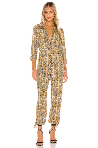 Demi Jumpsuit in Snake