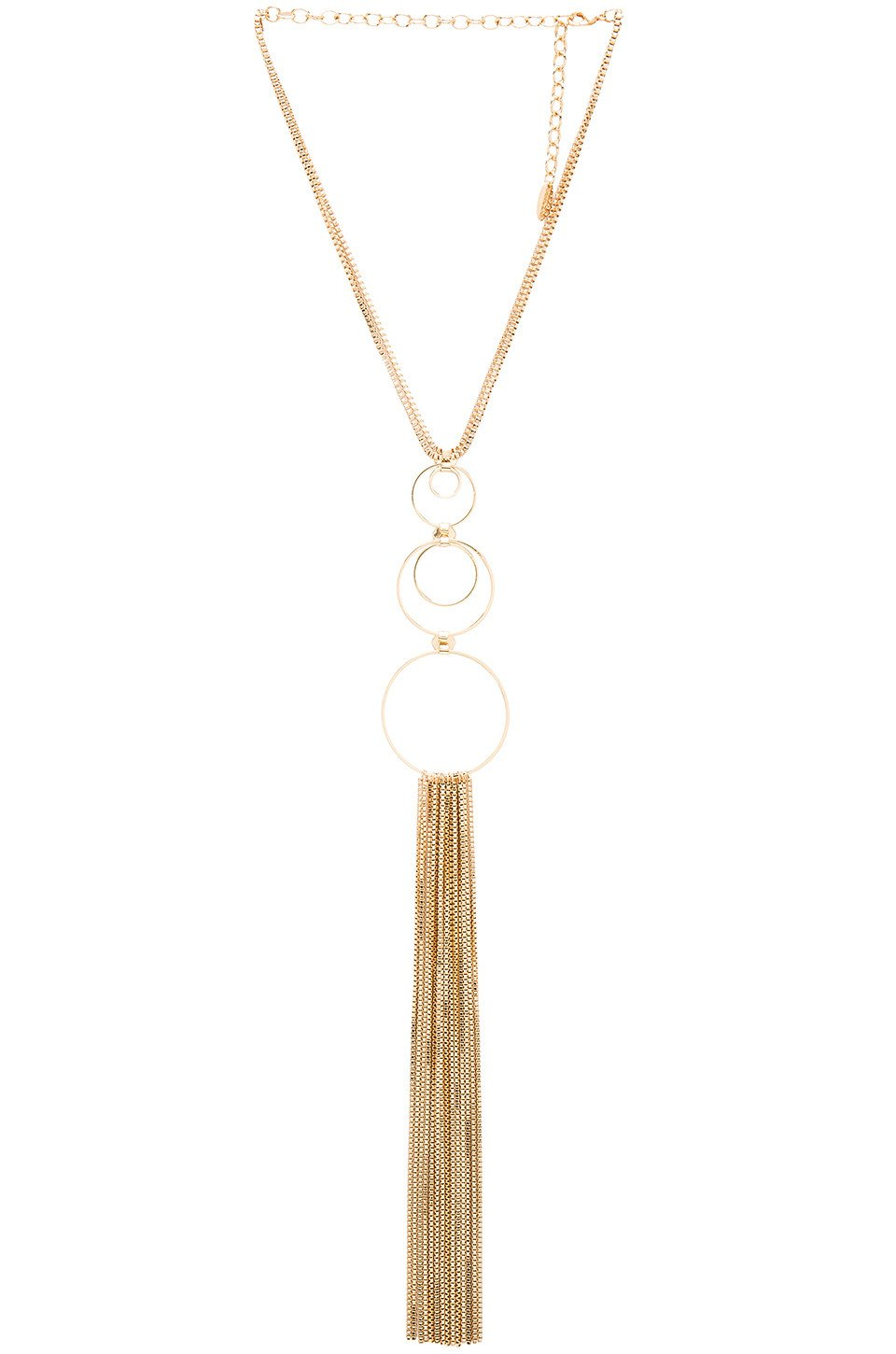 Circle Fringe Retro Necklace - Kustom Label